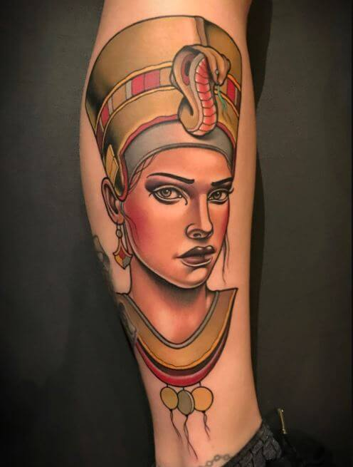 Egyptian Potrait Tattoos