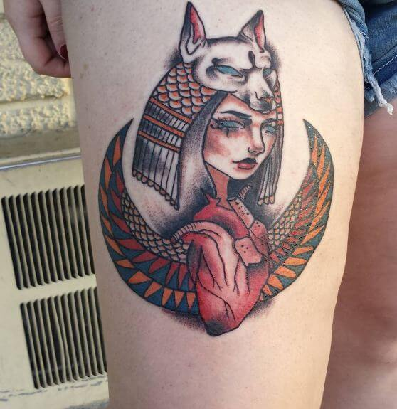 Egyptian Queen Tattoo