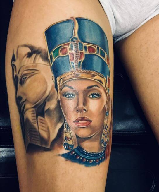 Egyptian Queen Tattoos