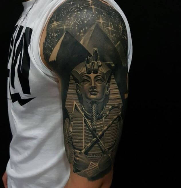 Egyptian Tattoos Design For Men Arm
