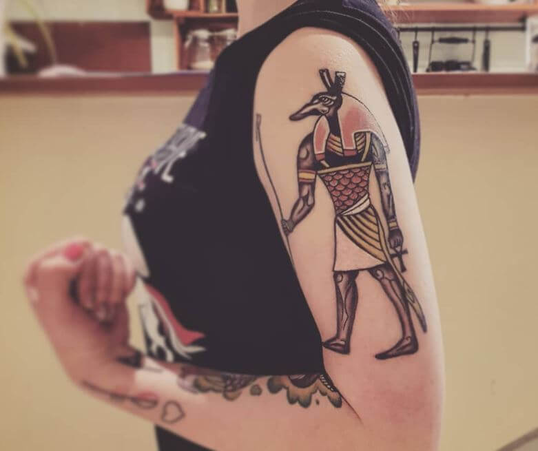 Egyptian Tattoos For Females