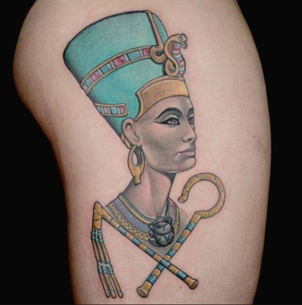 Egyptian Woman Tattoo