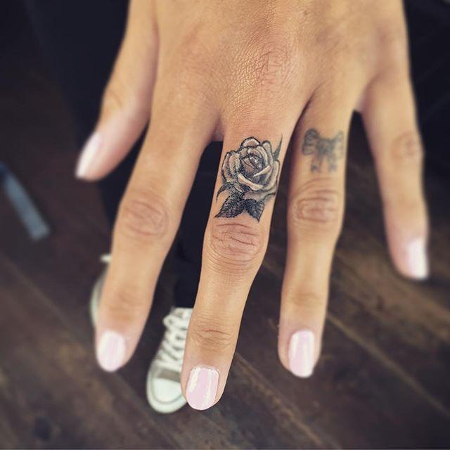 Finger Tattoo Symbols