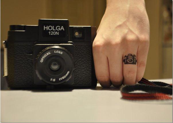 Finger Tattoos For Girls 1