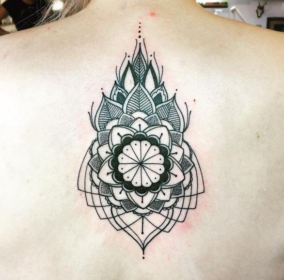 Geometric Back Tattoos