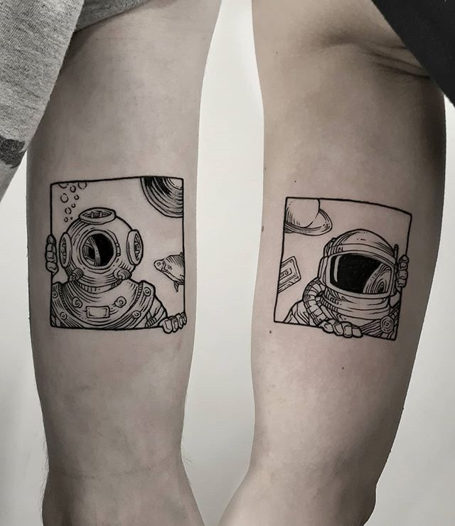 Geometric Flower Tattoo Designs (7)