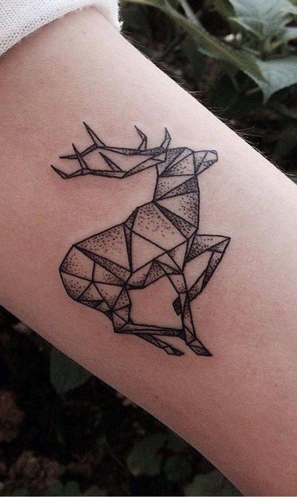 Geometric Half Sleeve Tattoos (1)