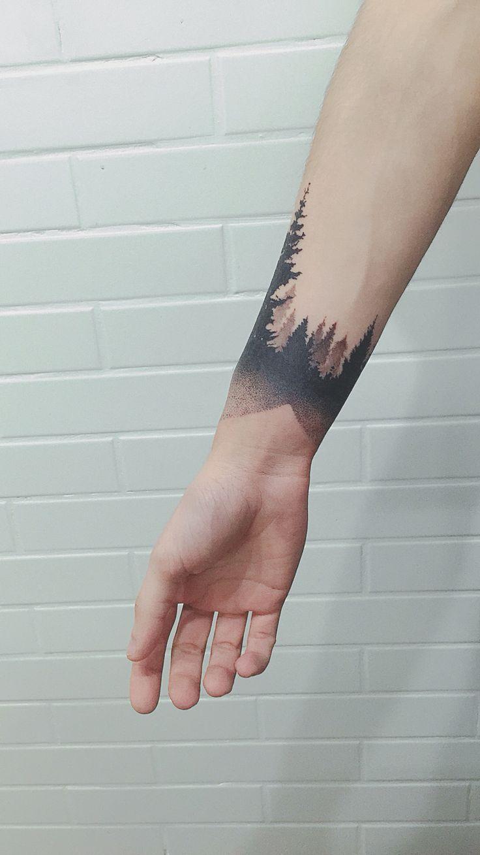 Geometric Half Sleeve Tattoos (8)