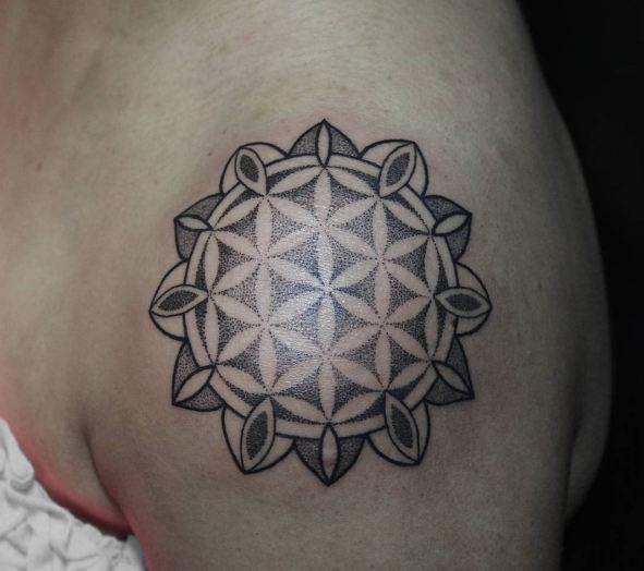 Geometric Mandala Tattoos