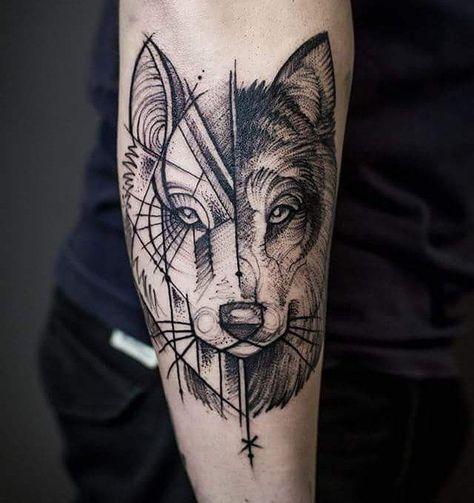 Geometric Pattern Tattoo Designs (1)