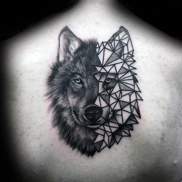 Geometric Pattern Tattoo Designs (8)