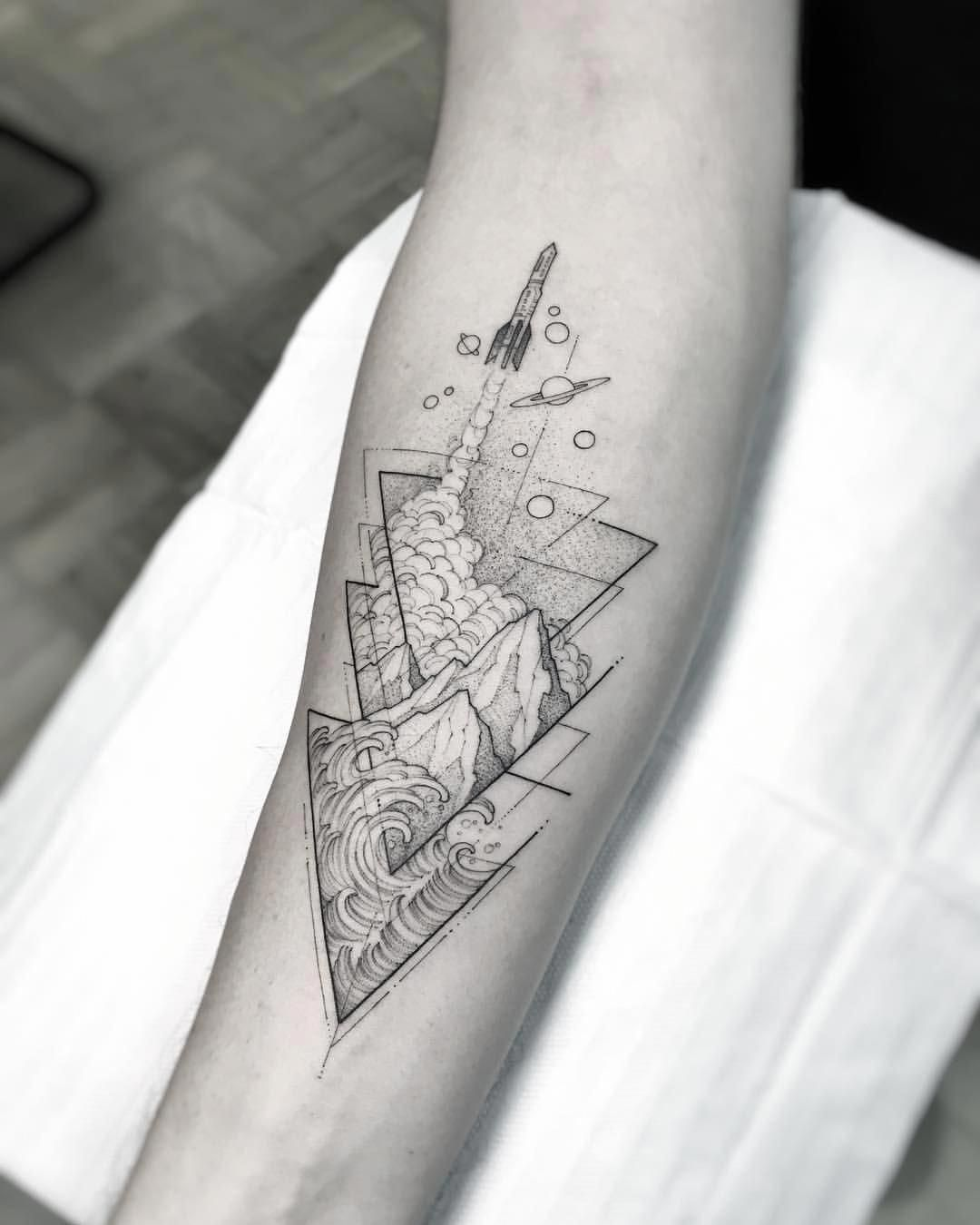Geometric Shape Tattoo Designs (11)