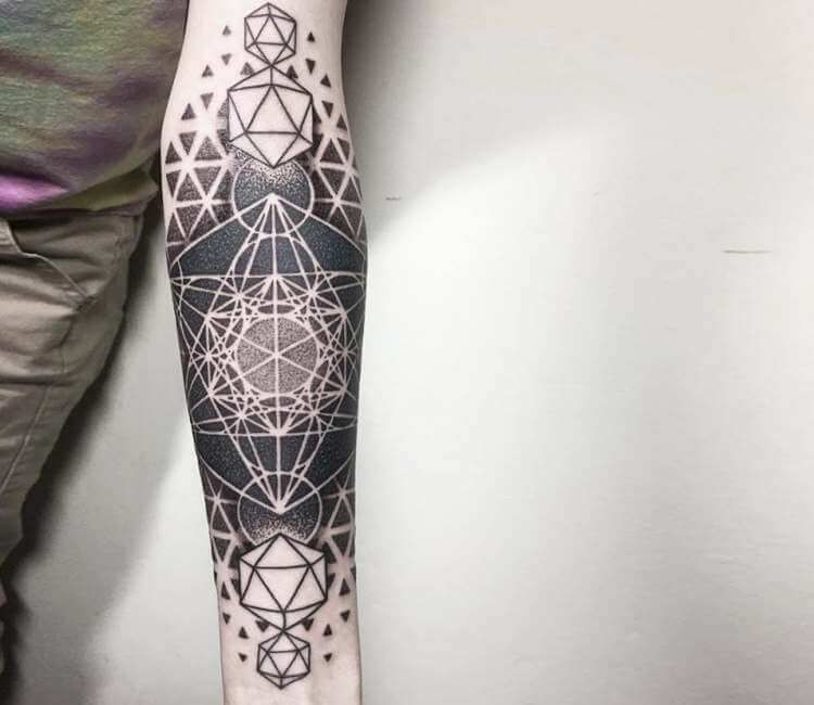 Geometric Shape Tattoo Designs (3)
