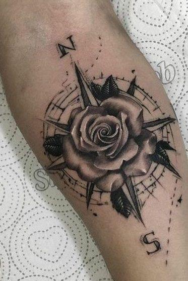 Geometric Shape Tattoo Designs (5)