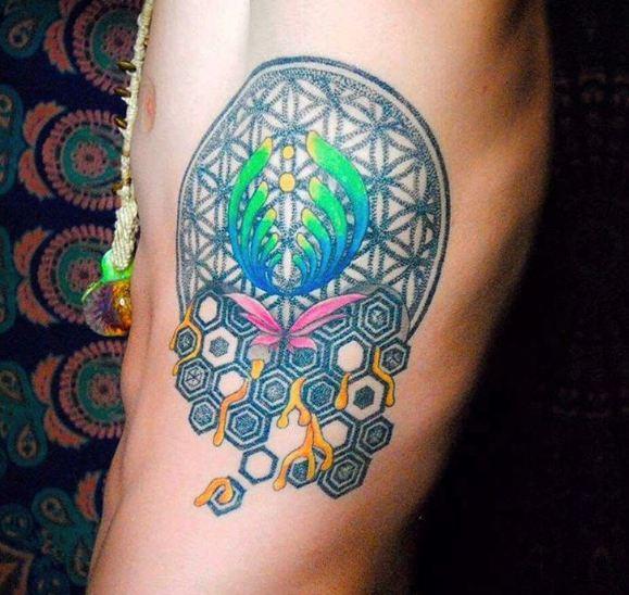 Geometric Skull Tattoos