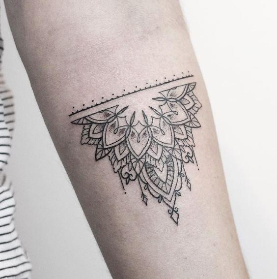 Geometric Sleeve Tattoos