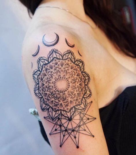 Geometric Tattoos Sleeve