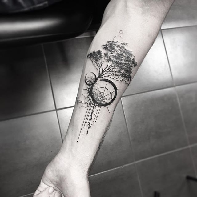 Geometry Tattoo (3)