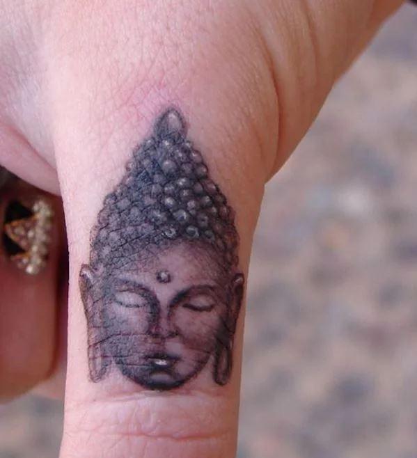 Healed Finger Tattoos