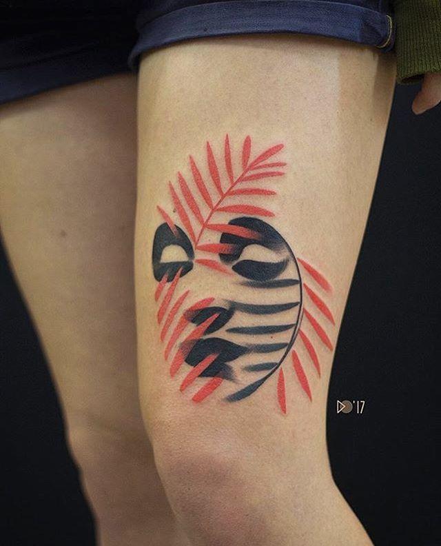 Hexagon Tattoo (1)