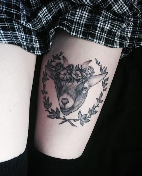 Inner Thigh Tattoos
