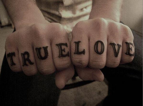 Letter Tattoos On Finger