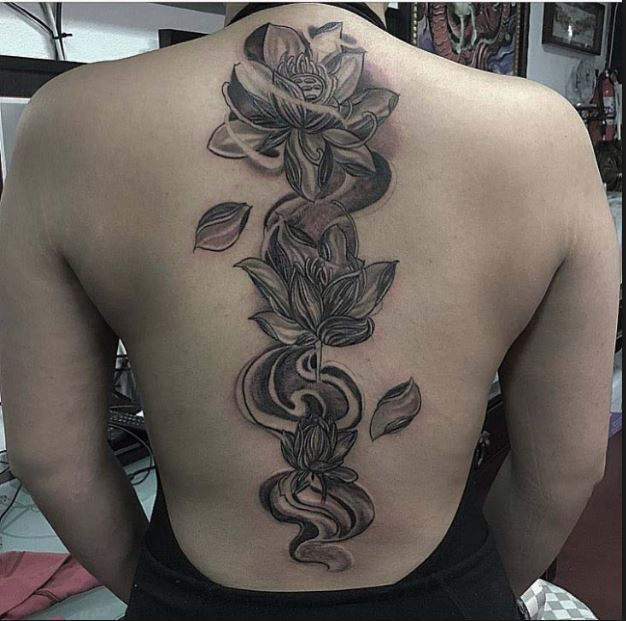 Lower Spine Tattoos