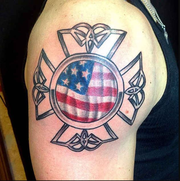 Maltese Cross Tattoos