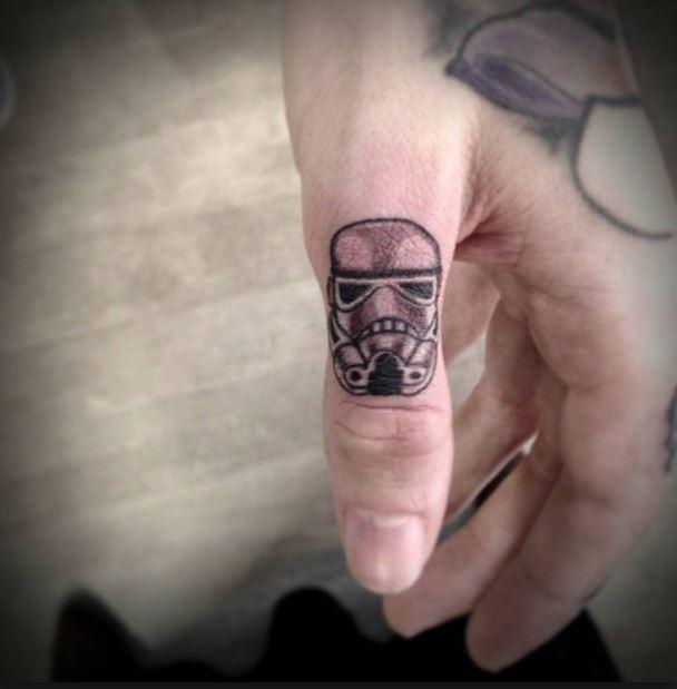 Mens Finger Tattoos
