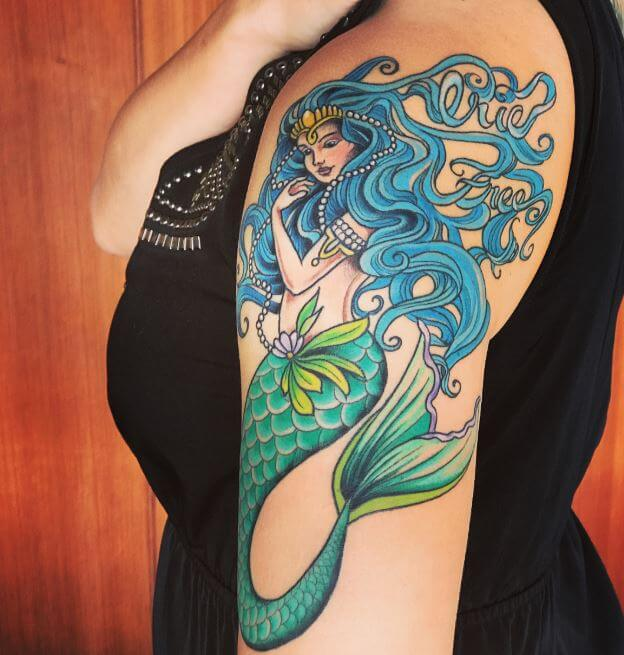Mermaid Tattoos Designs