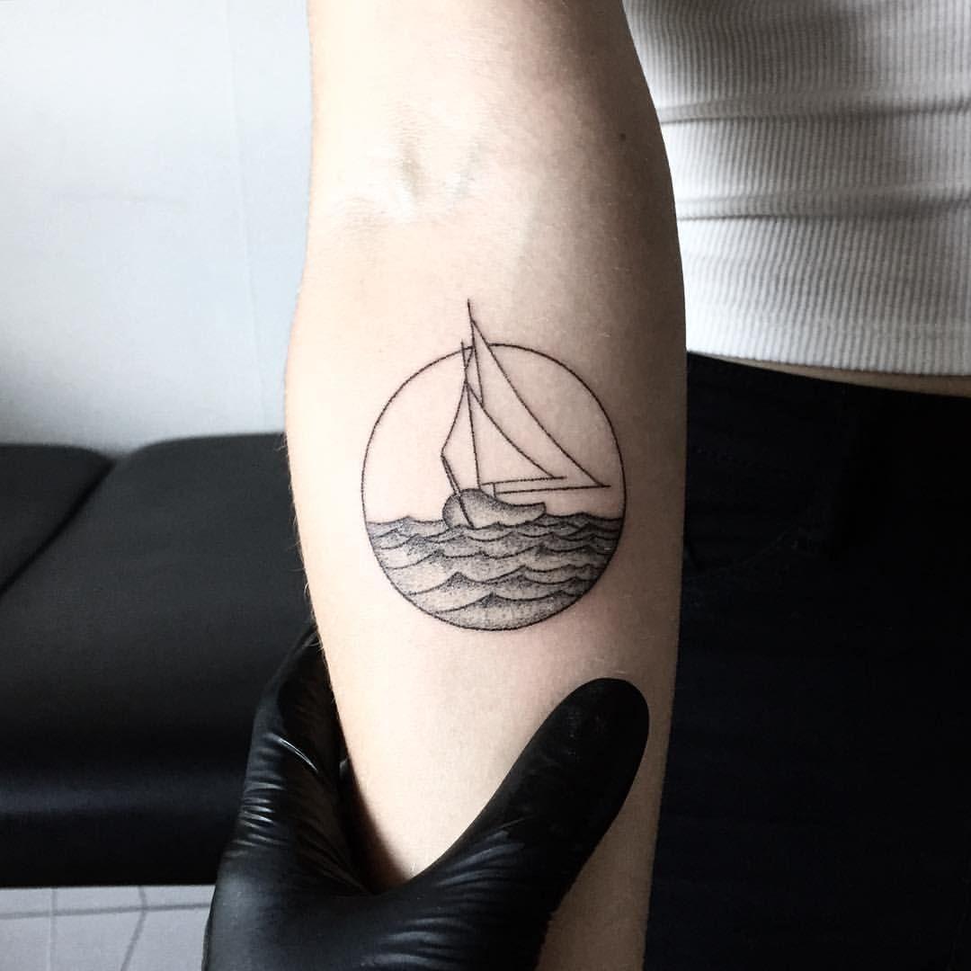 Minimalist Geometric Tattoos (1)