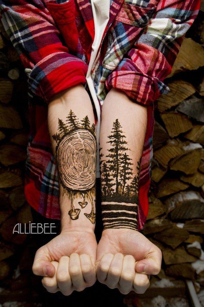 Minimalist Geometric Tattoos (10)