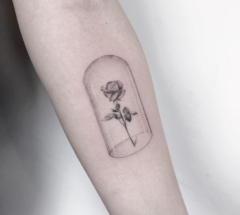 Minimalist Geometric Tattoos (11)