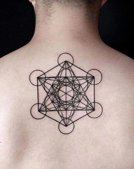 Minimalist Geometric Tattoos (12)