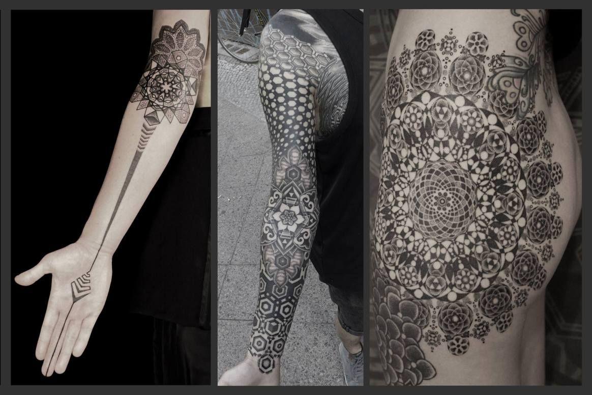 Minimalist Geometric Tattoos (15)