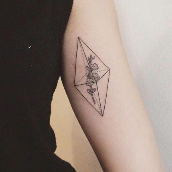 Minimalist Geometric Tattoos (21)