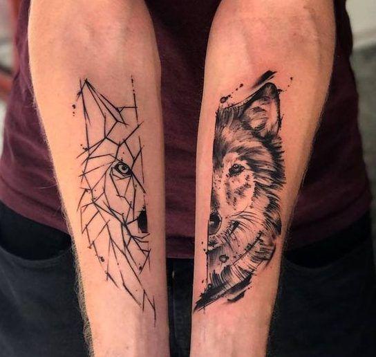 Minimalist Geometric Tattoos (22)