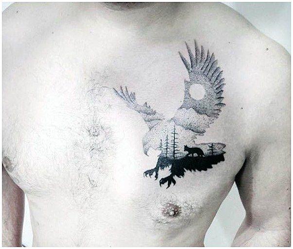 Minimalist Geometric Tattoos (4)