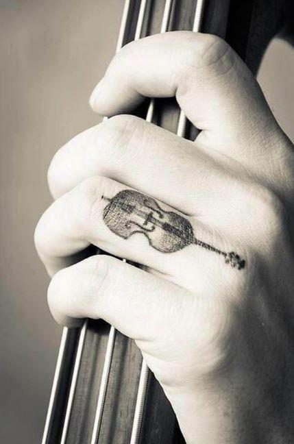 Music Finger Tattoos