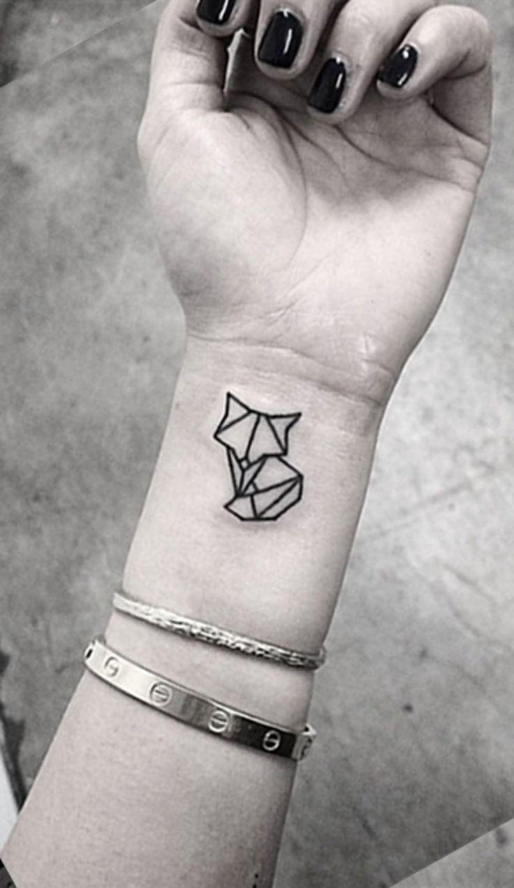 Nature Geometric Tattoo (6)