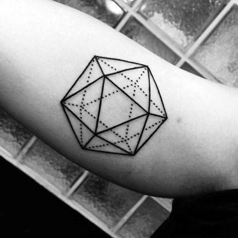 Nature Geometric Tattoo (8)