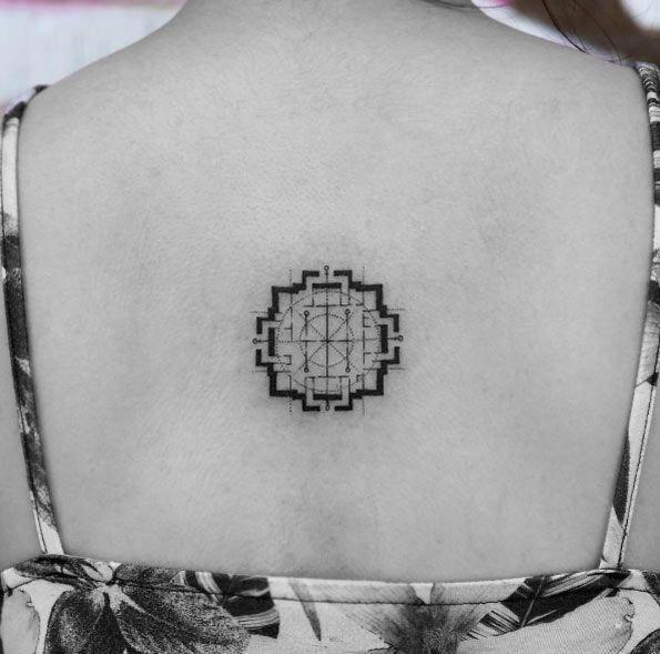 Sacred Geometry Tattoo (3)