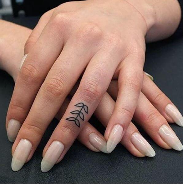 Simple Finger Tattoos