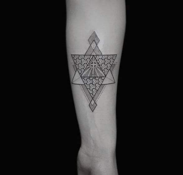 Simple Geometric Tattoos