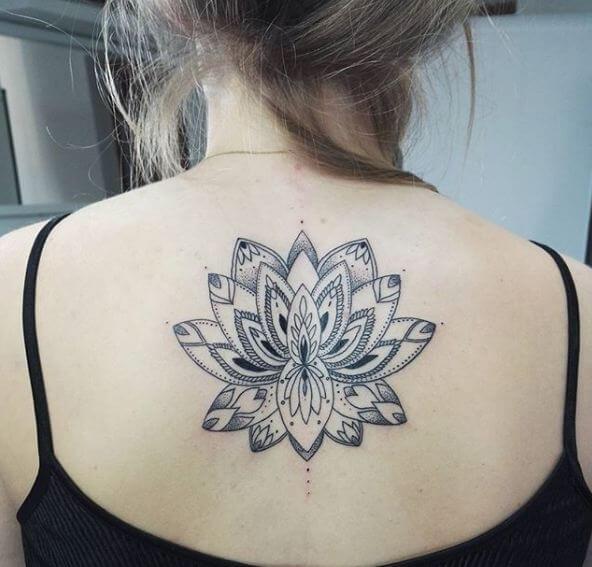 Simple Lotus Tattoos