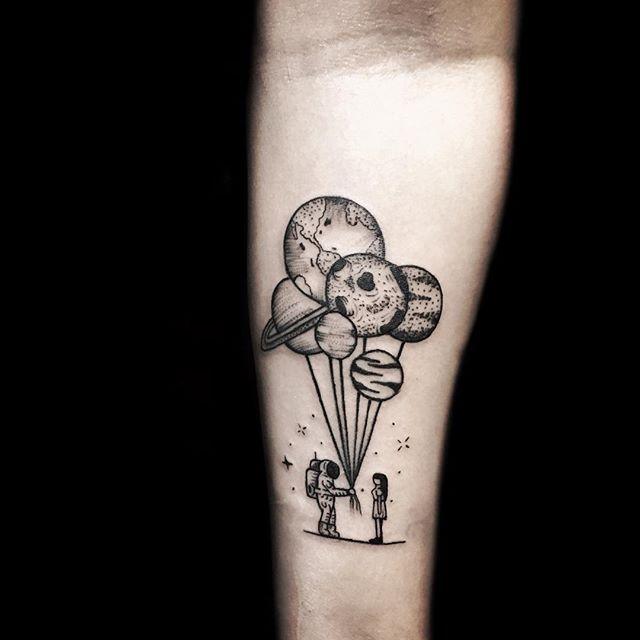 Simple Shape Tattoos (10)