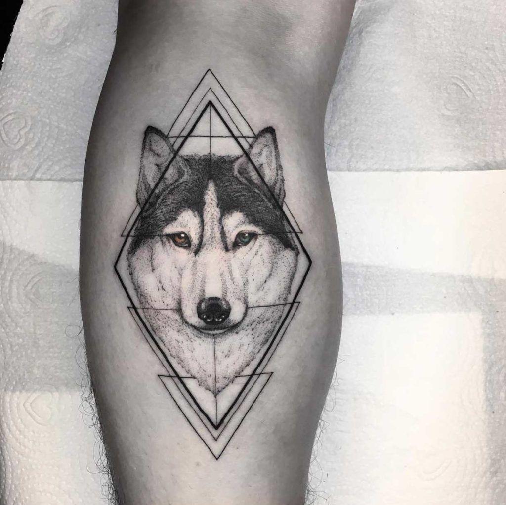 Simple Shape Tattoos (11)