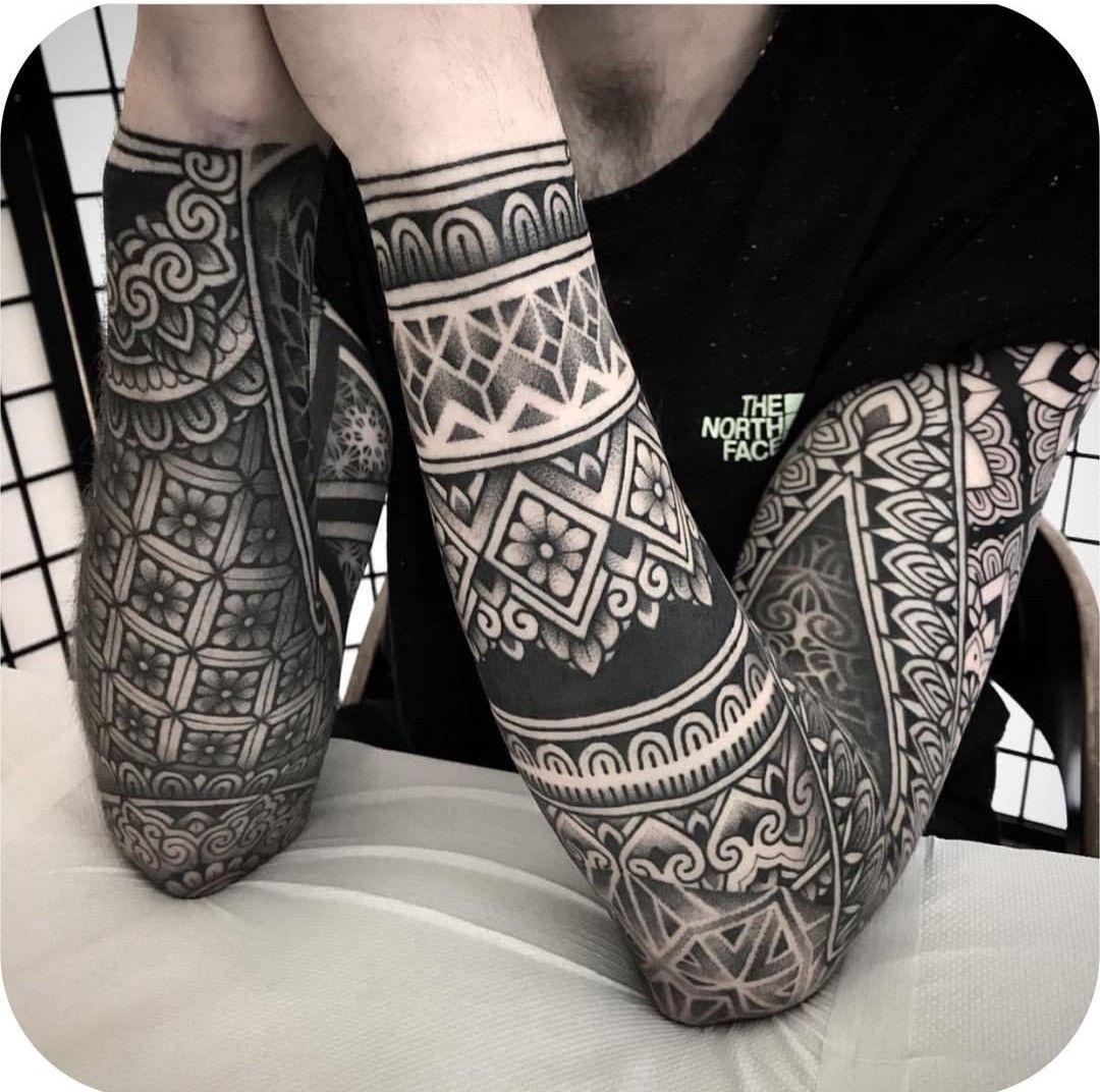 Simple Shape Tattoos (6)