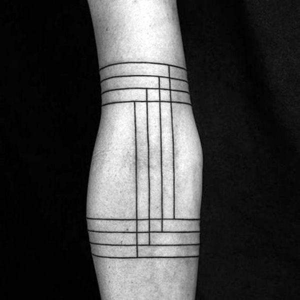 Simple Shape Tattoos (8)