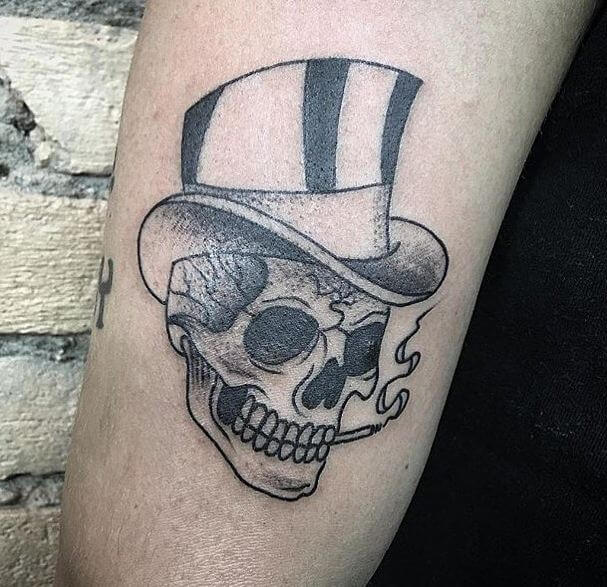 Simple Skull Tattoos